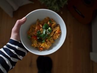 quinoa jídlo