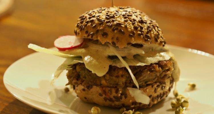 veganské burgery