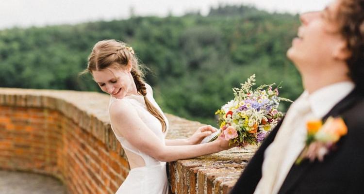 svatební fotka Bílá Černá