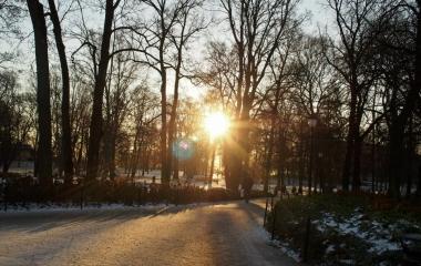 zima v Oslu