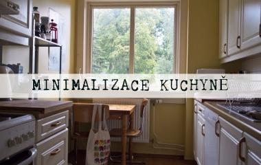 minimalize kuchyně