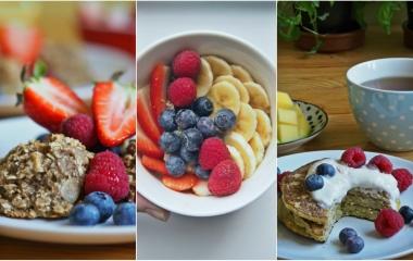 sladké snídaně